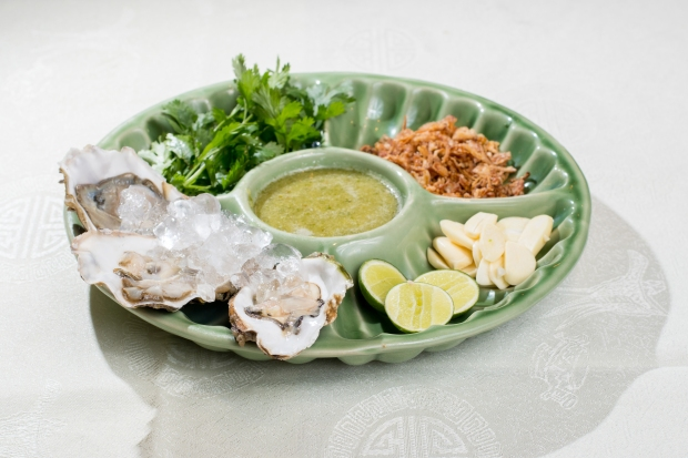 E - Thai Fresh Oyster with Lime Sauce
